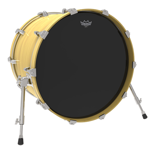 Remo Ambassador Ebony Drum Heads