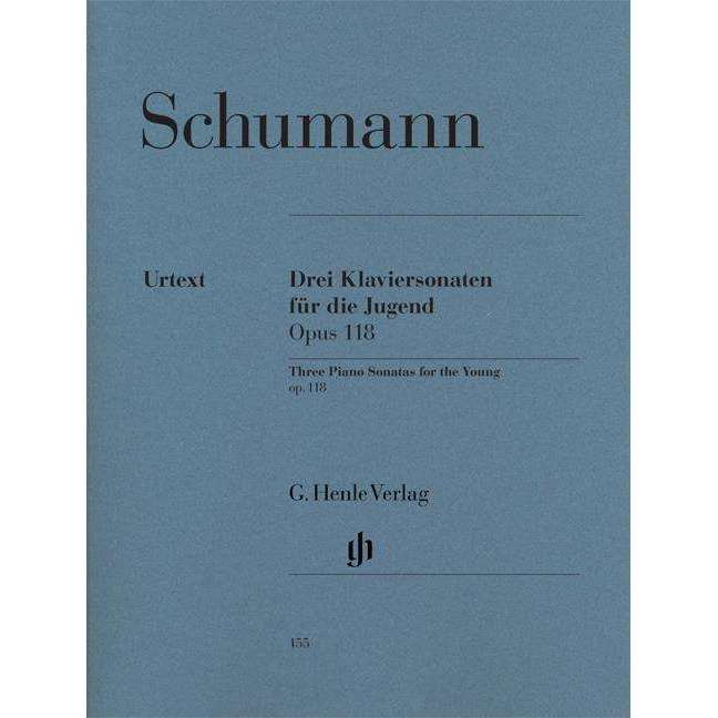 Schumann Three Piano Sonatas for the Young (Op. 118)