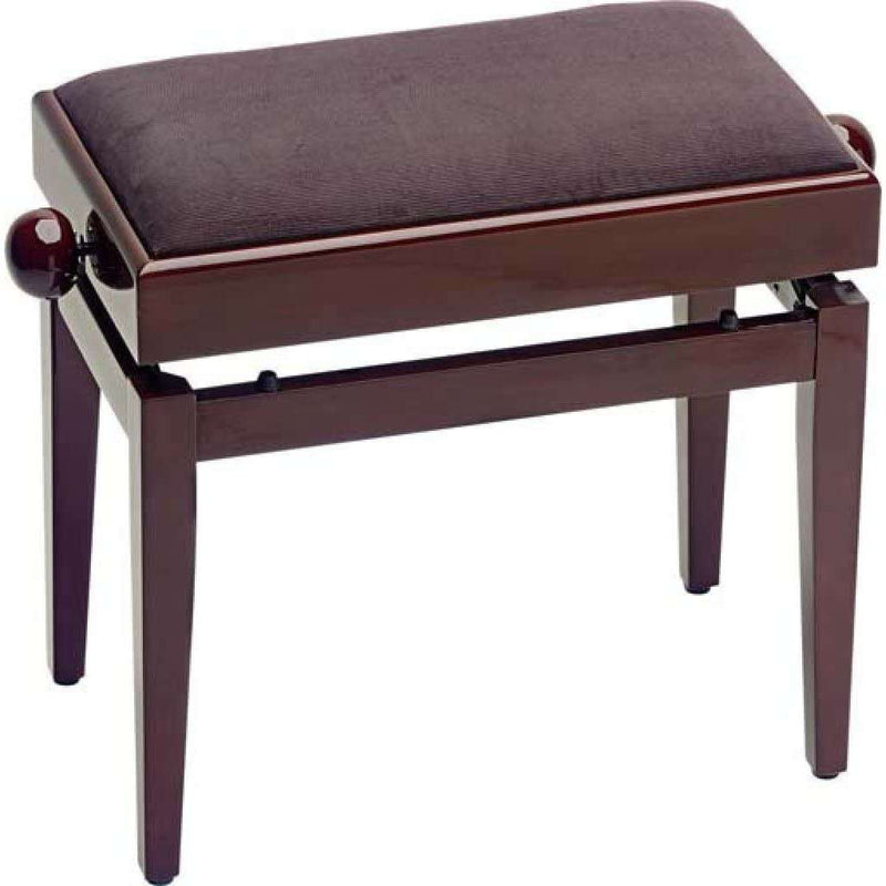 Stagg - Wooden Height Adjustable Piano Bench (w/ Storage)