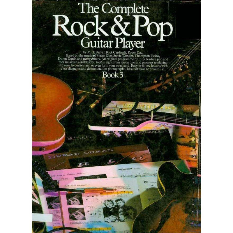 The Complete Rock and Pop Guitar Player Book 3