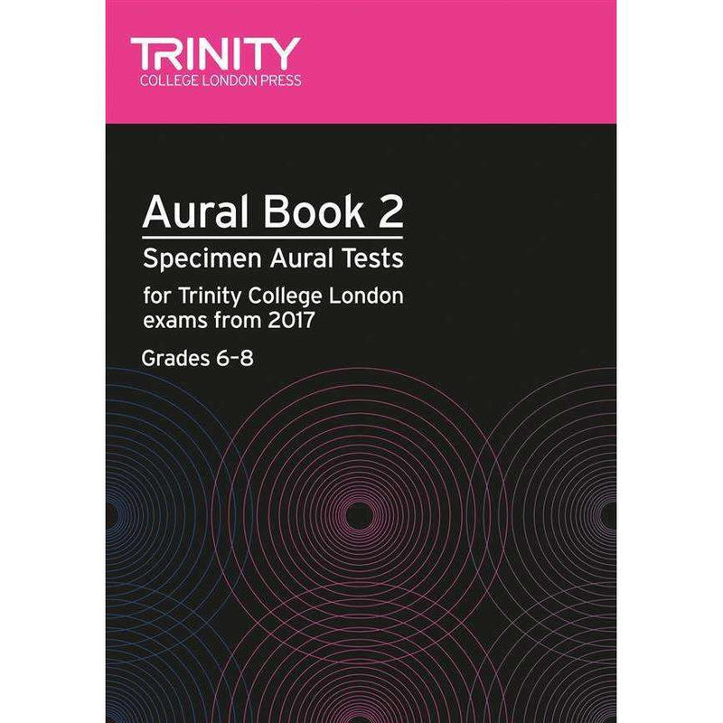 Trinity Aural Books from 2017