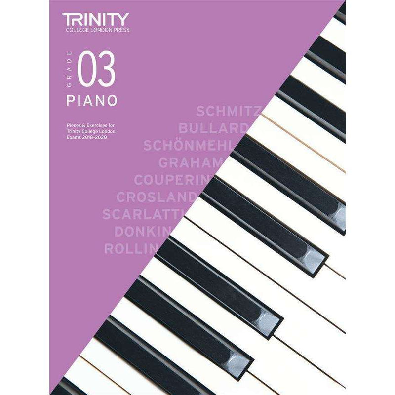 Trinity College London Piano Exam Pieces & Exercises (2018-2020)