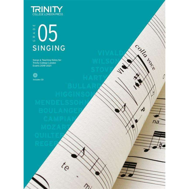 Trinity College London Press Singing 'Songs & Teaching Notes'