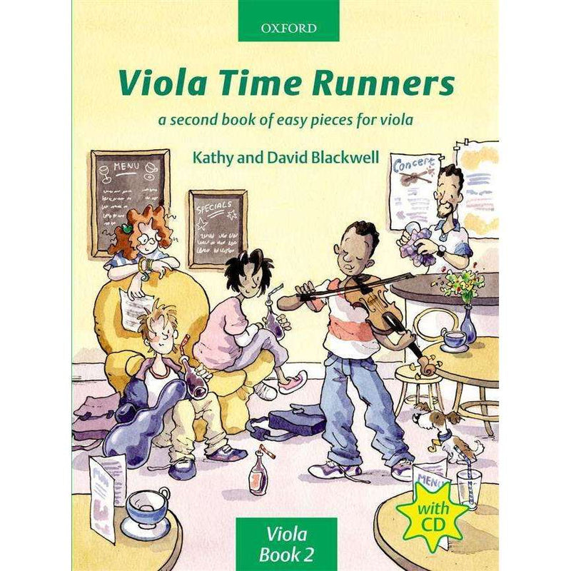 Viola Time Runners with CD - Blackwell