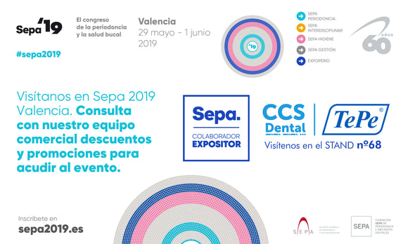 SEPA 19 Estand CCS Dental con TePe