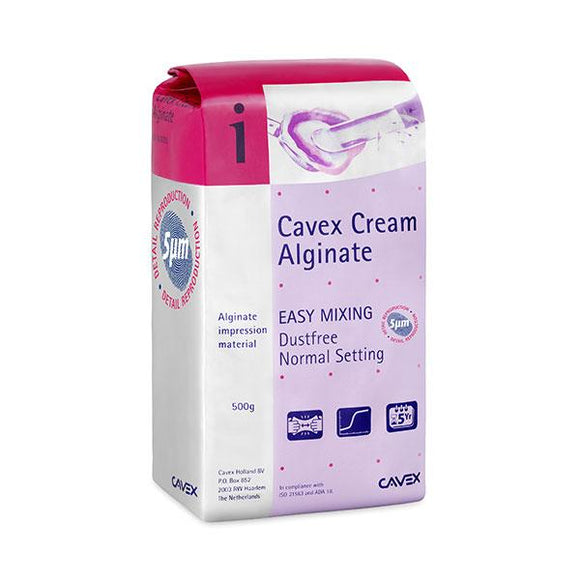 alginatos para imprensión CAVEX,cavex alginate cream 500gr.