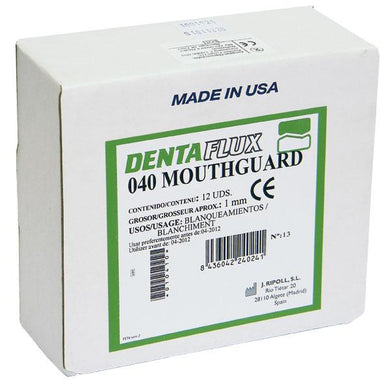 040 MOUTHGUARD 1mm. 12u. MACHINE
