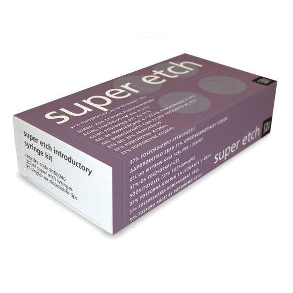 ácidos para obturación SDI, super etch intro. kit gel jer. 3x2ml + 25 puntas