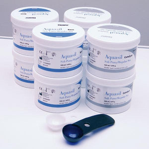 siliconas para imprensión DENTSPLY,aquasil ultra eco soft putty(4x900ml)
