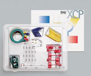 portapeliculas DENTSPLY, xcp evolution 2000 kit con bite-wing