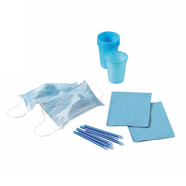 Kit 4 Desechables 500 Pacientes