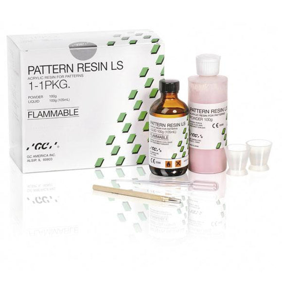 material para laboratorio GC, pattern resin ls kit 100gr+105ml. 335201