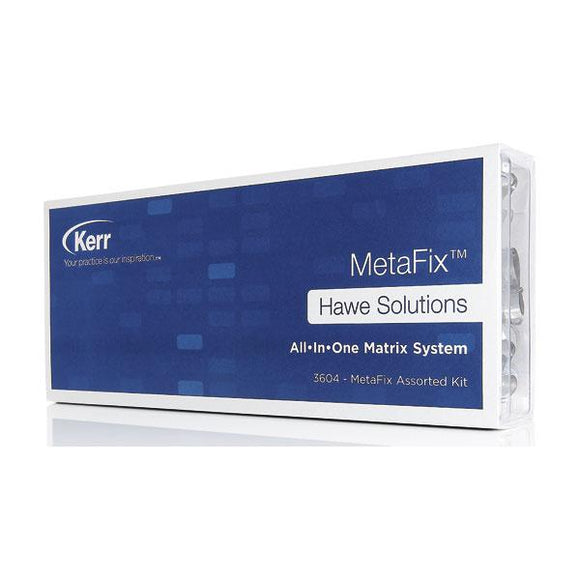 material dental desechable matrices HAWE-NEOS, metafix matrices rep. 50uds.
