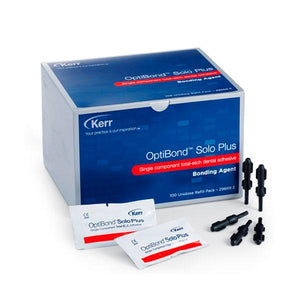 adhesivo dentales para obturación KERR, optibond solo plus unidose rep. 100x0,1ml.