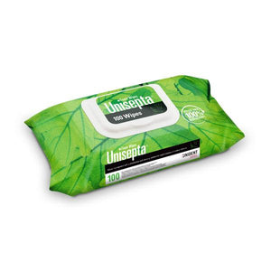 UNISEPTA FOAM WIPES 100uds.