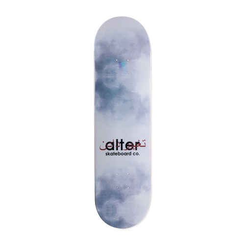 alter skateboard co heritage logo skateboard