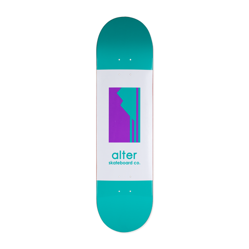alter skateboard co originals logo skateboard