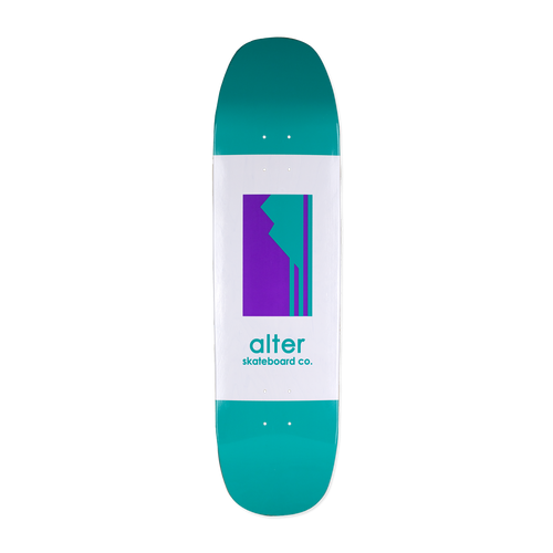 alter skateboard co originals logo cruiser skateboard
