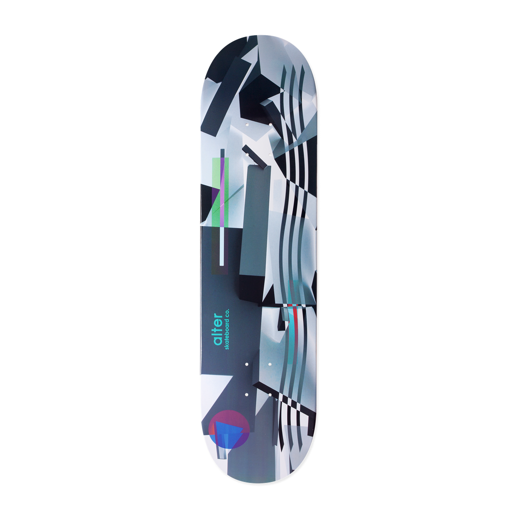 alter skateboard co carl alexander no signal skateboard