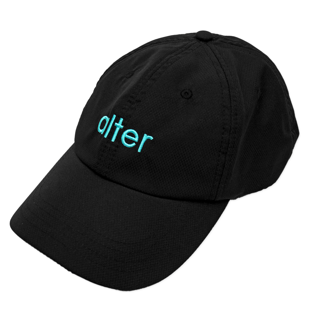 alter skateboard co originals logo cap black
