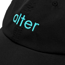 Load image into Gallery viewer, alter skateboard co originals logo cap black