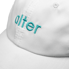 Load image into Gallery viewer, alter skateboard co company originals logo cap white