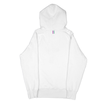Load image into Gallery viewer, alter skateboard co company originals logo hoodie hooded sweater white back