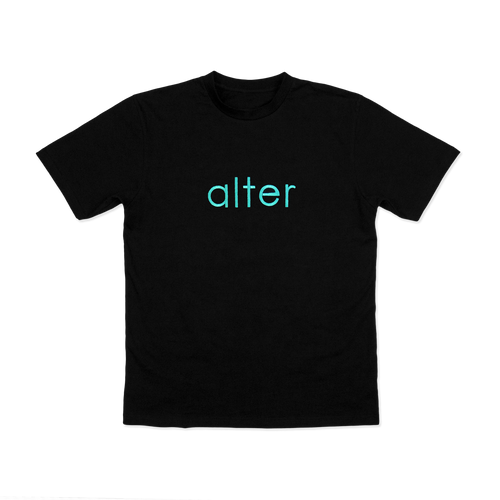 alter skateboard co company originals logo t-shirt tee front