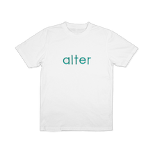 Load image into Gallery viewer, alter skateboard co company originals logo t-shirt tee white front