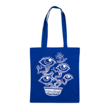 Load image into Gallery viewer, ALTER X TROBBIES - TOTE BAG [BLUE]