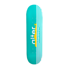Load image into Gallery viewer, alter skateboard co turquoise yellow submarine graphic skateboard