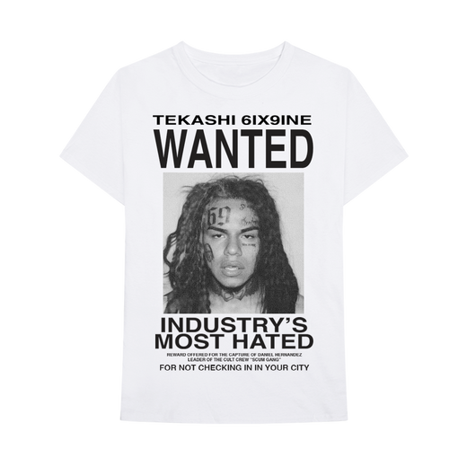 Wanted T-Shirt [White]