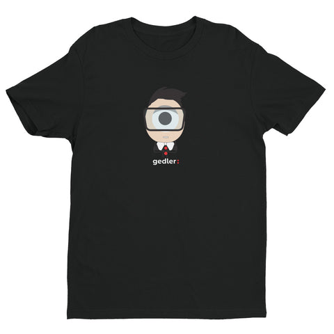 Short sleeve designer emoji T-shirt