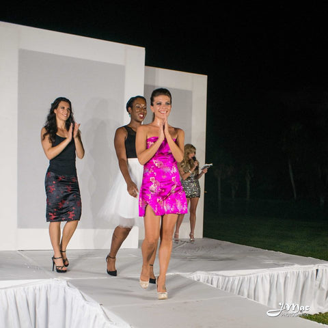 Lady minor runway show