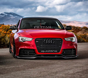 RS5 Carbon Fiber Front Splitter 2012-2016