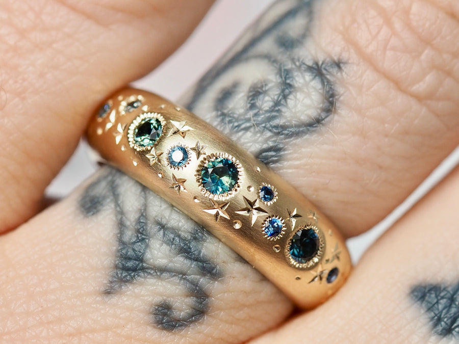 High Dome Celestial Band | 6mm | OOAK01