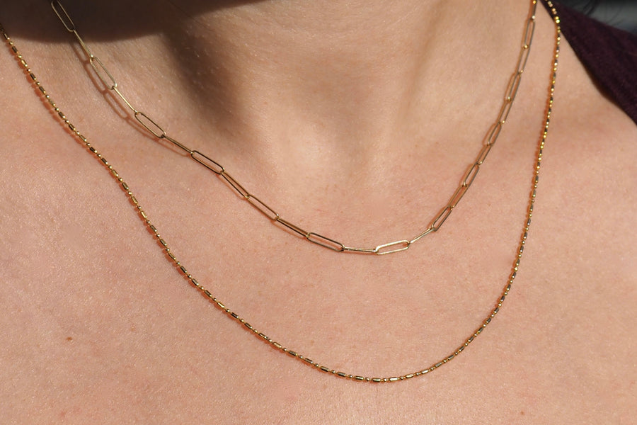 Alternating Bead Chain