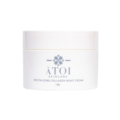 ATOI Revitalizing Collagen Night Cream for Fine Lines and Dry Skin