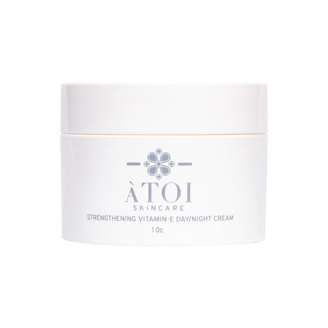 ATOI Strengthening Vitamin E Day/Night Cream for Sensitive Skin, Dry Skin, Acne Prone Skin