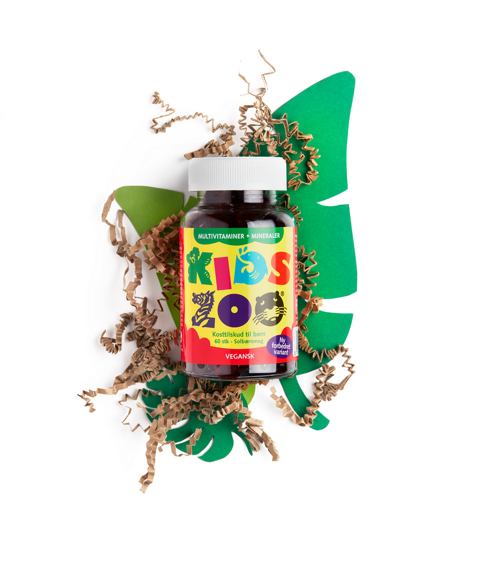 Kids Zoo® Multivitaminer + Mineraler
