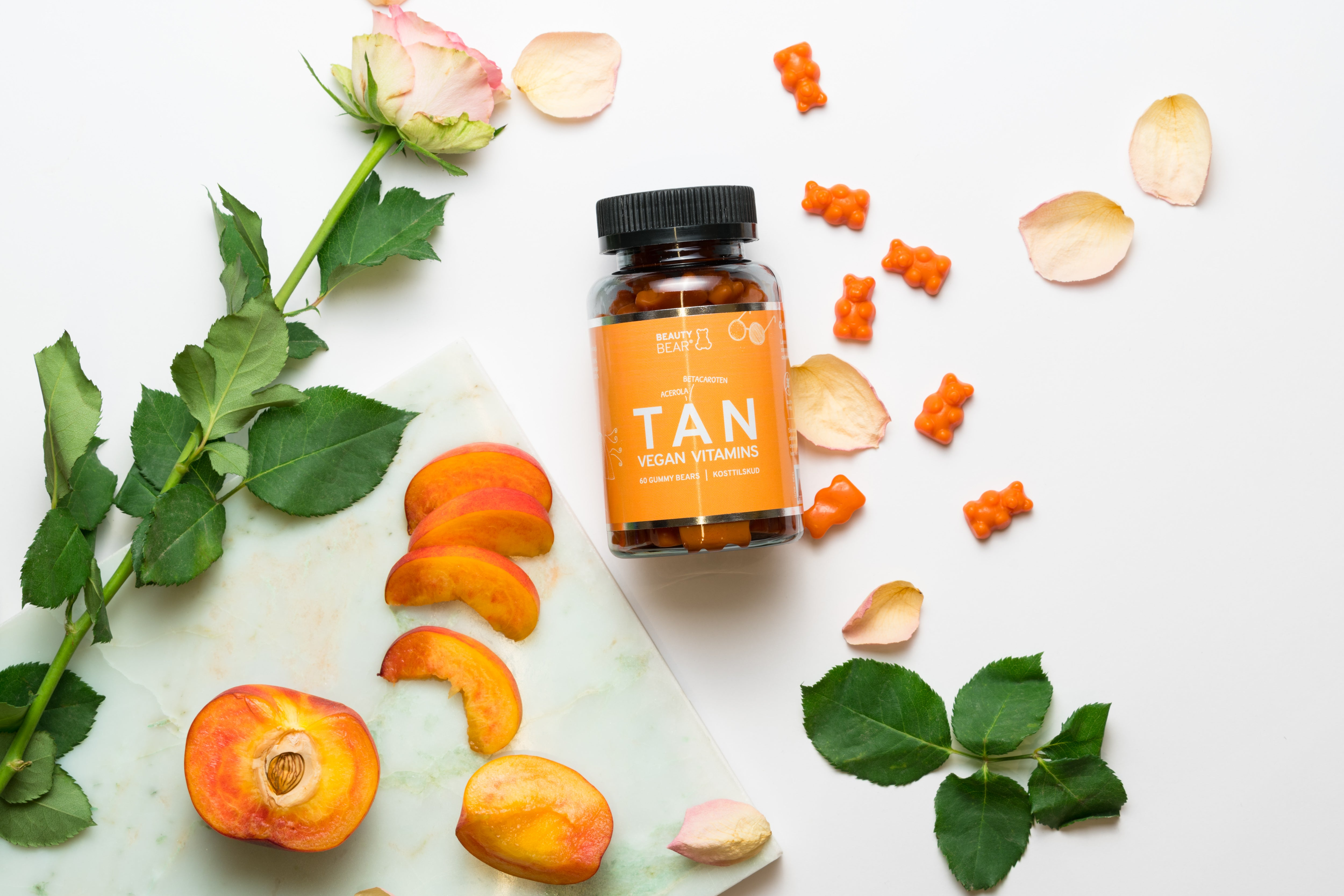 Beauty Bear TAN Vitamins  - vegansk betacaroten til en brunere hud