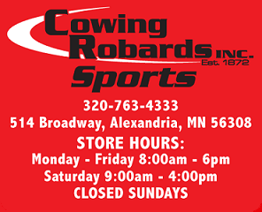 Cowing Robards Sports Homepage Logo