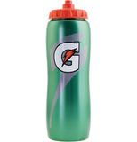 Gatorade Contour 32 oz. Squeeze Water Bottle All Sport Bottle Workout Fitness