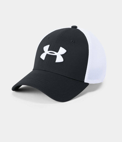 Under Armour Men's UA Threadborne Classic Mesh Golf Cap Stretch Flex Fit Cap Hat