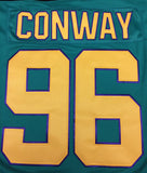 Charlie Conway Mighty Ducks #96 Headgear Classics Movie Authentic Hockey Jersey