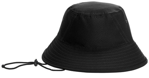 New Era 39THIRTY Hex Era Bucket Hat Blank Cap Training Sun Fishing Hat Drawcord