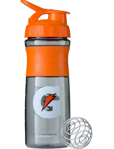 Gatorade Premium BlenderBottle 28oz. Water Blender Bottle Sport Mixer Protein