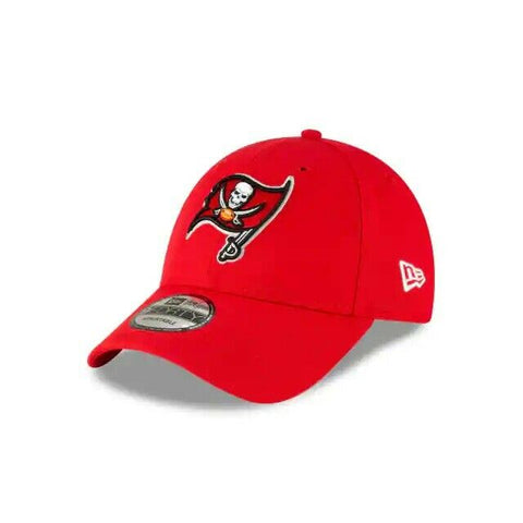 Tampa Bay Buccaneers New Era 9FORTY NFL Adjustable Strapback Hat Cap Red 940