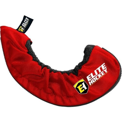 Elite Hockey Pro Skate Guards Black or Red Extreme Walking Soaker Blade Covers