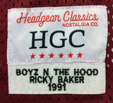 Ricky Baker Boyz N The Hood #42 Movie Football Jersey Film Morris Chestnut
